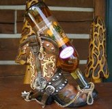Western Boot Wine Bottle Holder in Spring, Texas