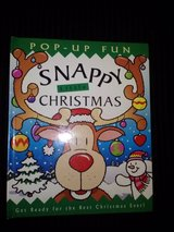 Snappy Christmas Pop up hardcover book in Camp Lejeune, North Carolina