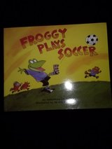 Froggy Plays soccer book in Camp Lejeune, North Carolina