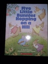 Five Little Bunnies Hopping on a Hill softcover book in Camp Lejeune, North Carolina