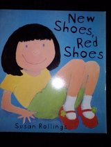 New Shoes, Red Shoes softcover book in Camp Lejeune, North Carolina