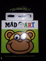 Mad Art book with dry erase marker in Camp Lejeune, North Carolina