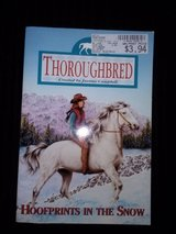 Thoroughbred - Hoofprints in the Snow softcover book in Camp Lejeune, North Carolina