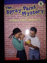 The Spray-Paint Mystery softcover book in Camp Lejeune, North Carolina