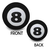 Foam 8 ball to hang from car mirror in Tinley Park, Illinois