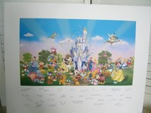 Disney A Party in the Kingdom limited lithograph 2005 in Brookfield, Wisconsin
