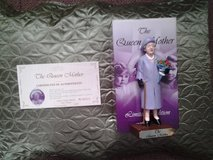 boxed brand new figurine of the queen mother in Lakenheath, UK