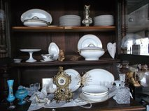 timeless French Limoges china set for 10 in Spangdahlem, Germany