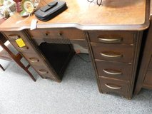 solid wood desk.  sh in Cherry Point, North Carolina